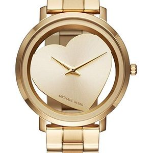 Michael Kors NWT Women's Jaryn Gold-Tone Watch